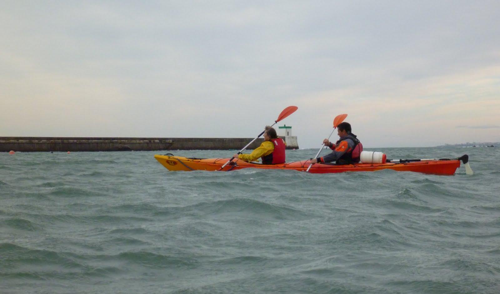 Atlantic pirogue d 39 o a vient blog atlantic pirogue - Kayak de mer 2 places ...